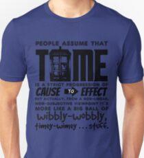 Wibbly-Wobbly Timey-Wimey...Stuff. Unisex T-Shirt