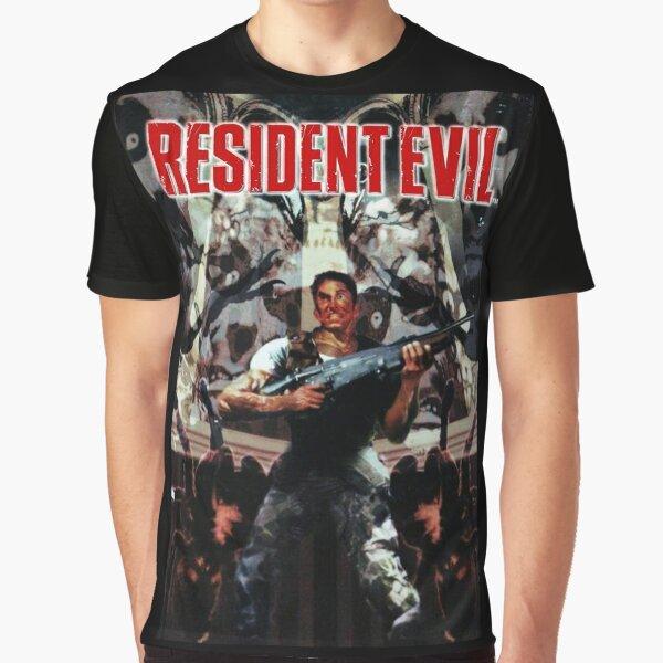 Caja larga RE1 Camiseta gráfica