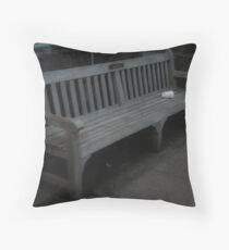 Thrown away Throw Pillow