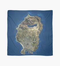 Grand Theft Auto V Los Santos Map Scarf