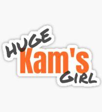 Huge Kam's Girl  Sticker