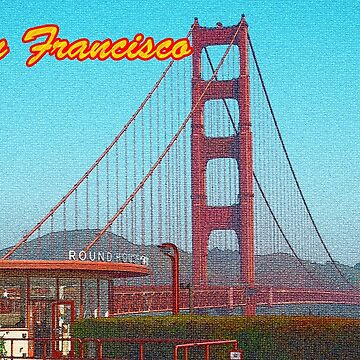 San Francisco Post Card by Kgphotographics