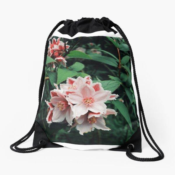 Flower Photograph Merch Drawstring Bag