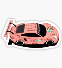 Pegatina Le Mans 2018: Pink Pig