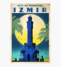"Vintage travel poster ""Izmir - Turkey"" ⛔ HQ quality Photographic Print"