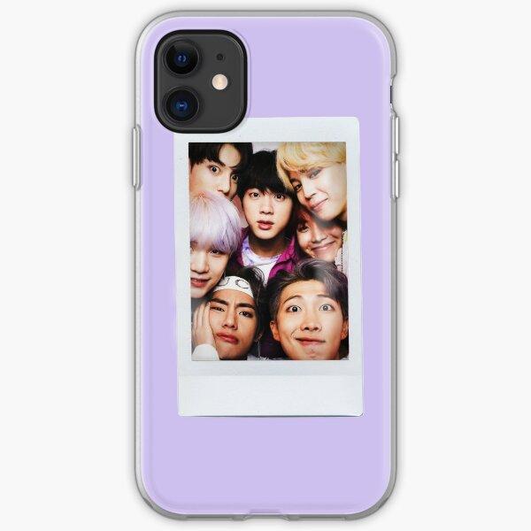 BTS Polaroid iPhone Soft Case