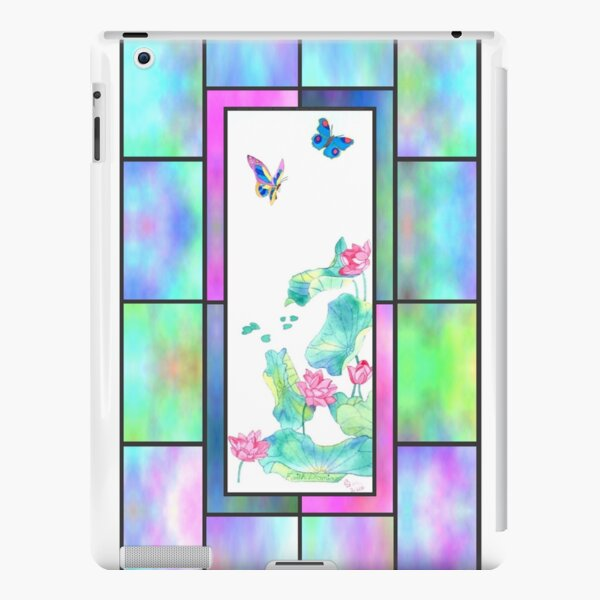 Stained Glass Pond iPad Snap Case