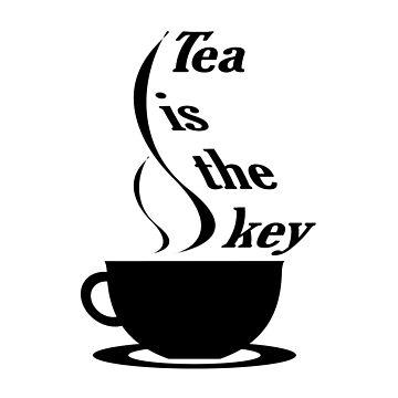 Tea is the key by Hopasholic
