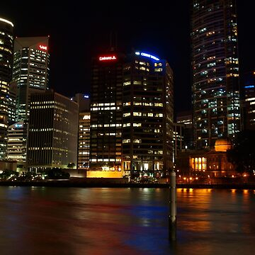 Holman Street view of Brisbane City by Wayne48