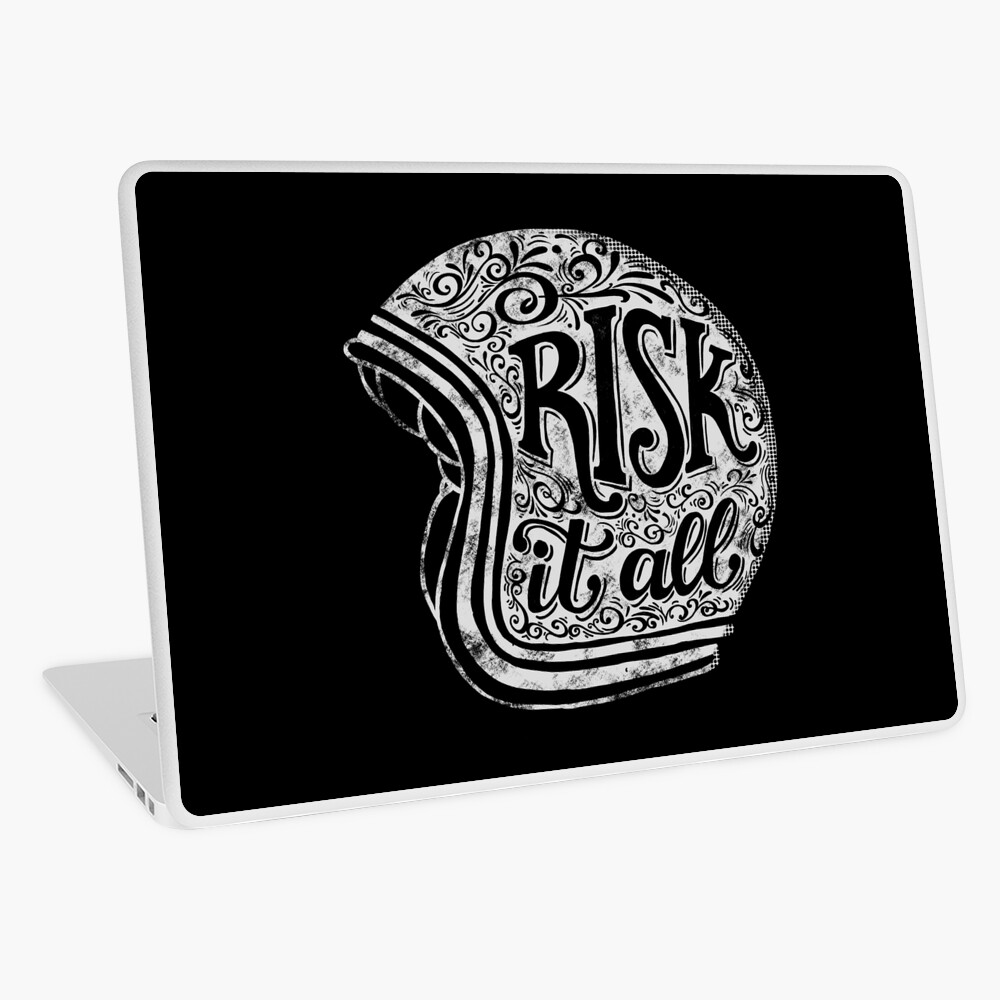 Risk It All Laptop Skin