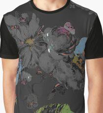 Black Road by hyndussidart Graphic T-Shirt