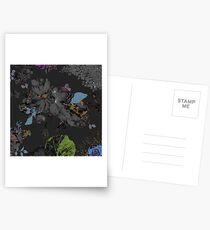 Black Road by hyndussidart Postcards