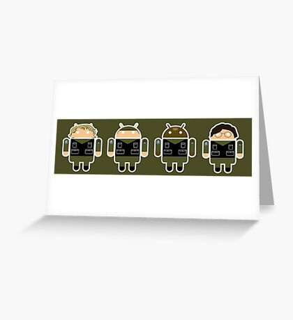 Droidarmy: Stargate SG-1 Greeting Card