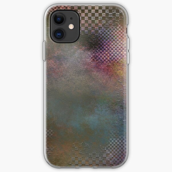 Mobile skin dots iPhone Soft Case