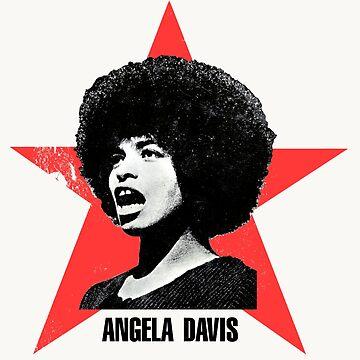 Angela Davis by GongAuGung