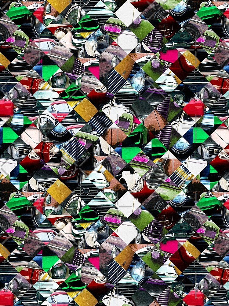 Colorful Automotive Abstract by perkinsdesigns