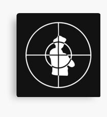 public enemy logo Canvas Print