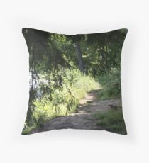 Shady Rest Throw Pillow