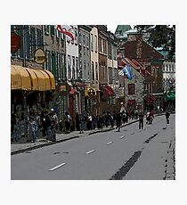 rue Ste Anne Photographic Print