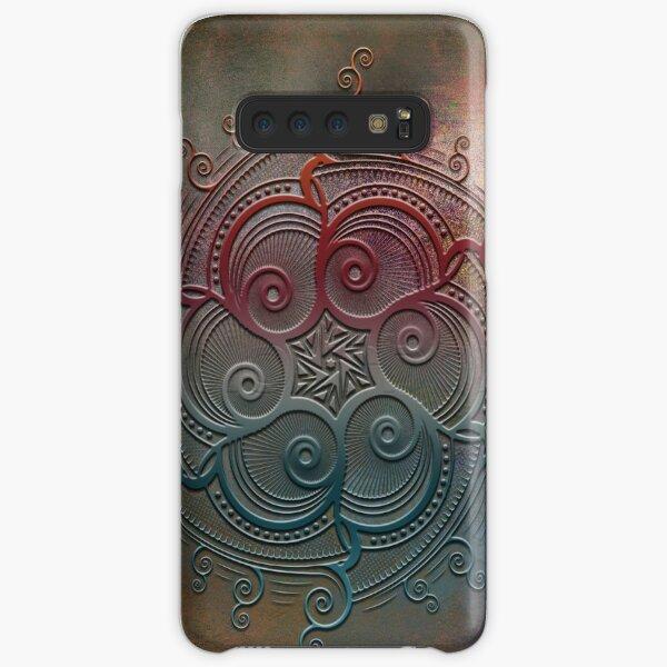 Mobile skin case mandala split Samsung Galaxy Snap Case