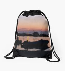 Amorgos Sunset  Drawstring Bag