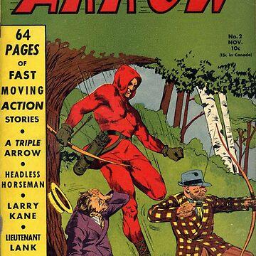 The Arrow comic #2 by Stingrae