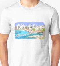 Cote d'Azur Unisex T-Shirt
