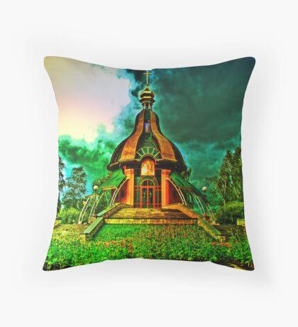Little Church Throw Pillow