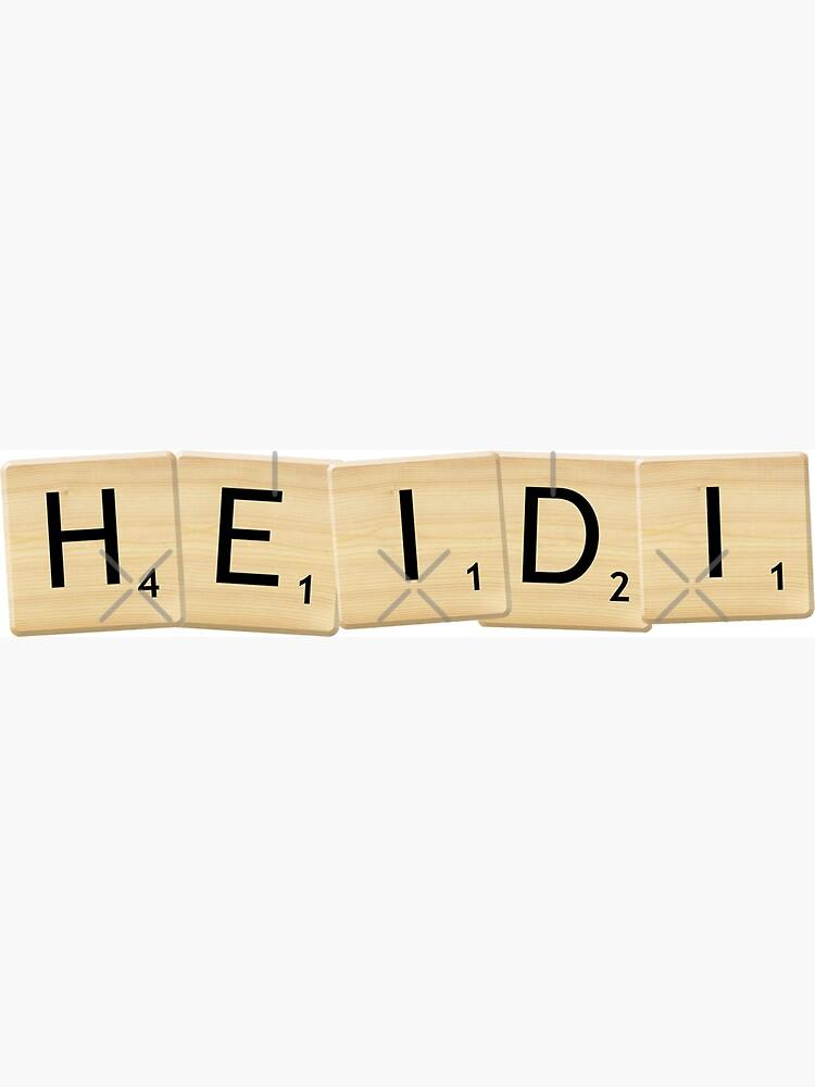 Heidi by imoulton