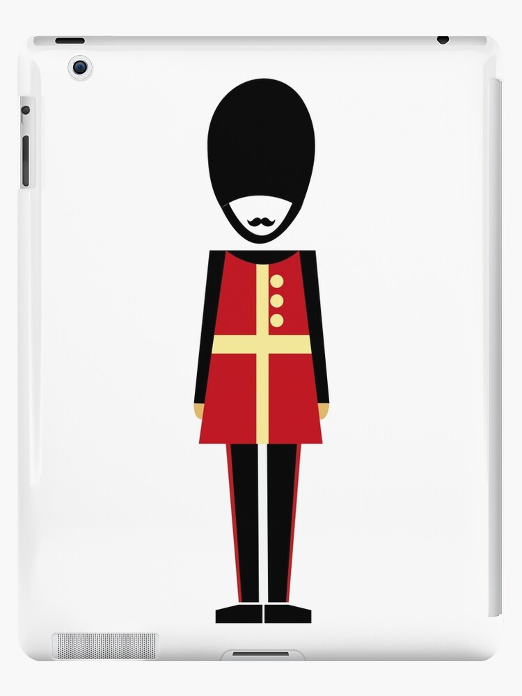 Soldier figure London design by lizmaydesigns
