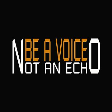 BE A VOICE by Hopeandshop