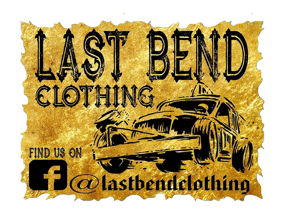 Last Bend Clothing Logo As Seen On Team Moulds Racing by Stuart Price