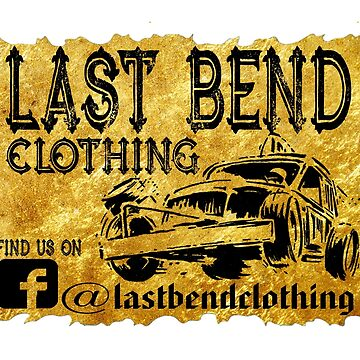 Last Bend Clothing Logo As Seen On Team Moulds Racing by stoopidstu