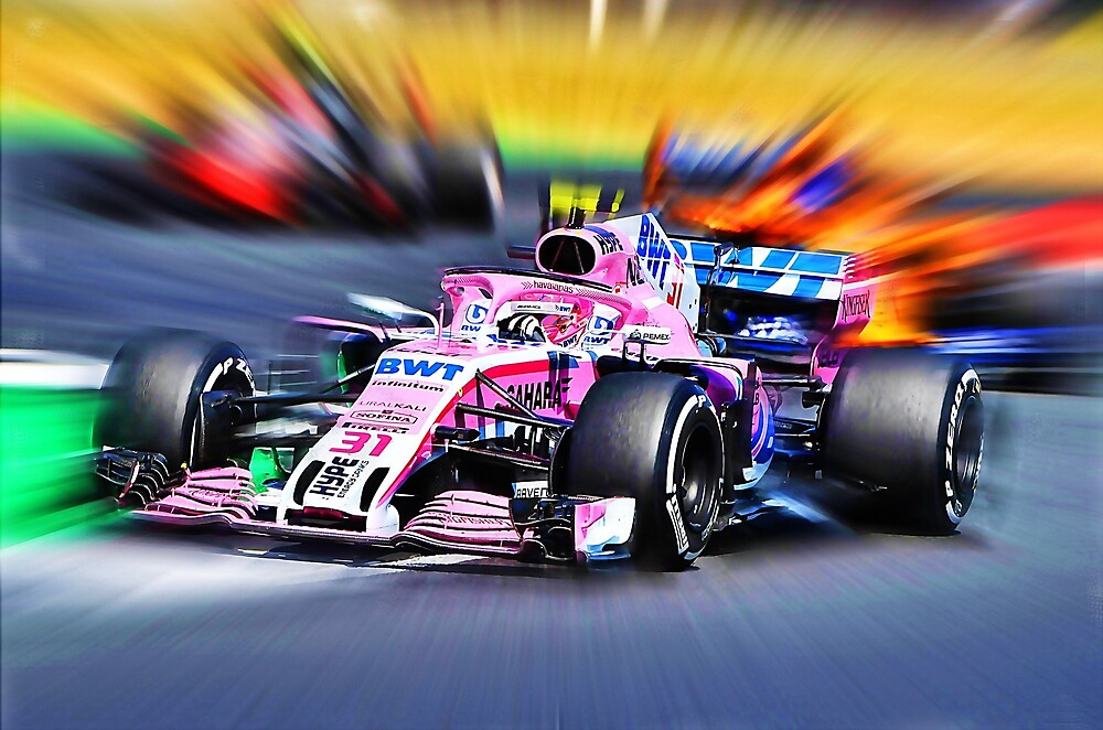#31 Esteban Ocon Inside by Glineur