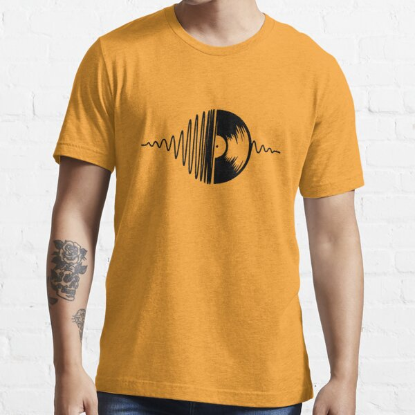 music vinyl black Essential T-Shirt
