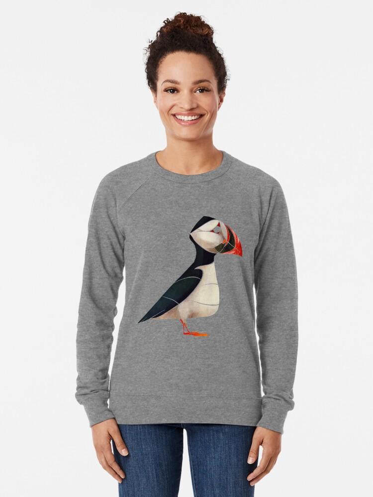 Alternate view of Puffin  Lightweight Sweatshirt