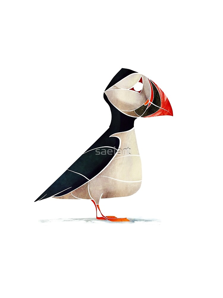 Puffin  by saeiart