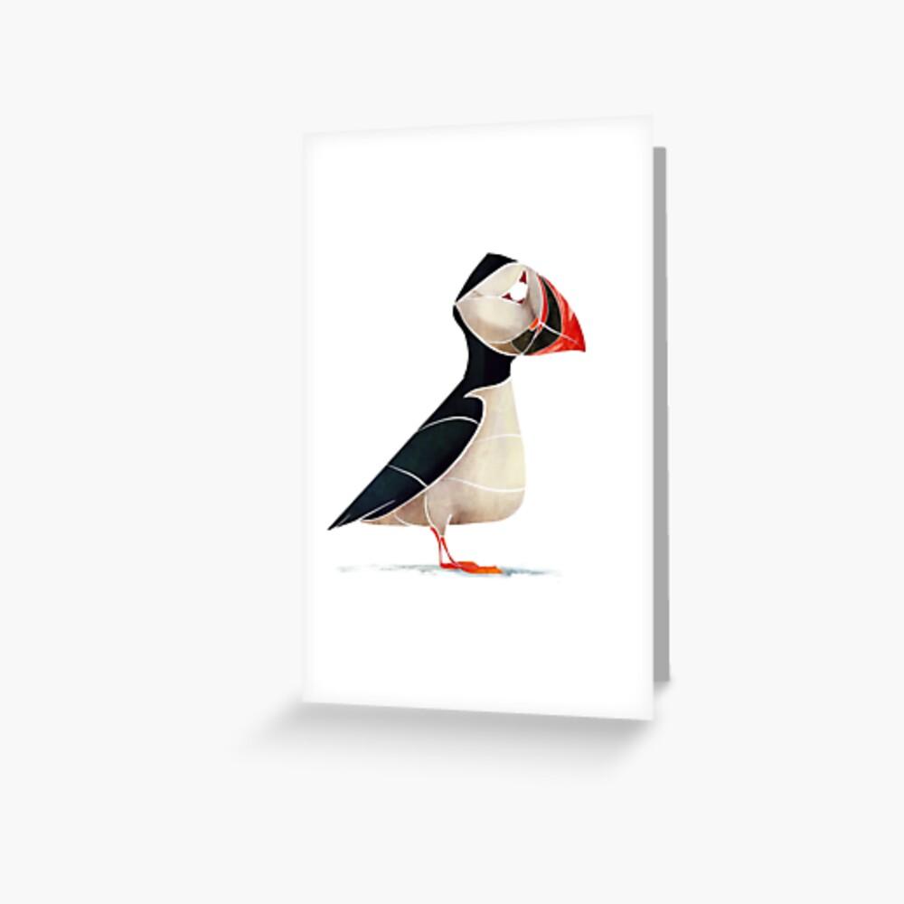 Puffin  Greeting Card