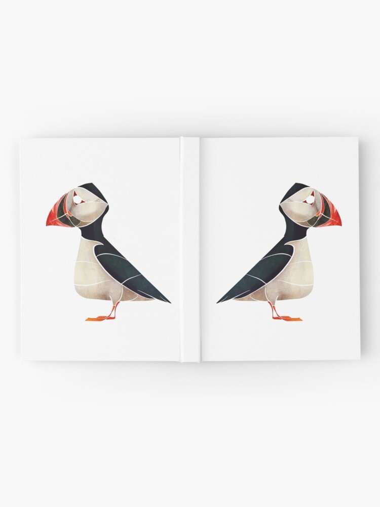 Alternate view of Puffin  Hardcover Journal