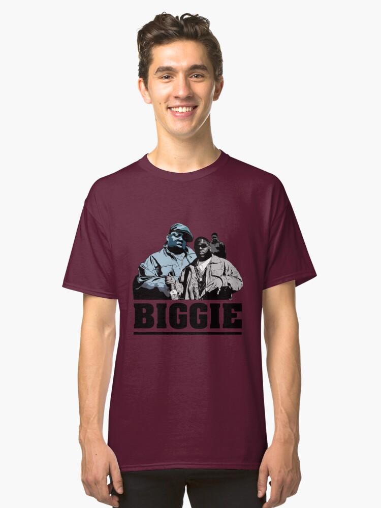 Biggie Smalls Classic T-Shirt Front