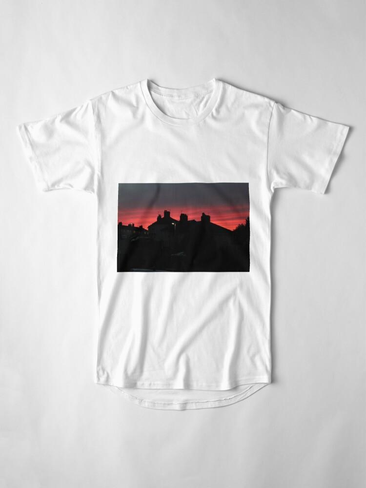 Alternate view of Intense Evening Glow Long T-Shirt