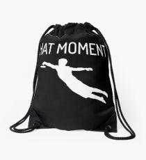 Ultimate Frisbee Moments  Drawstring Bag