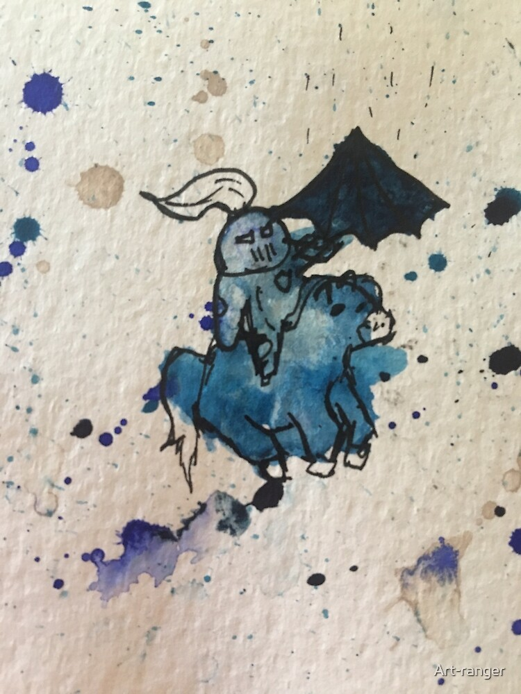 Brave blue night by Art-ranger