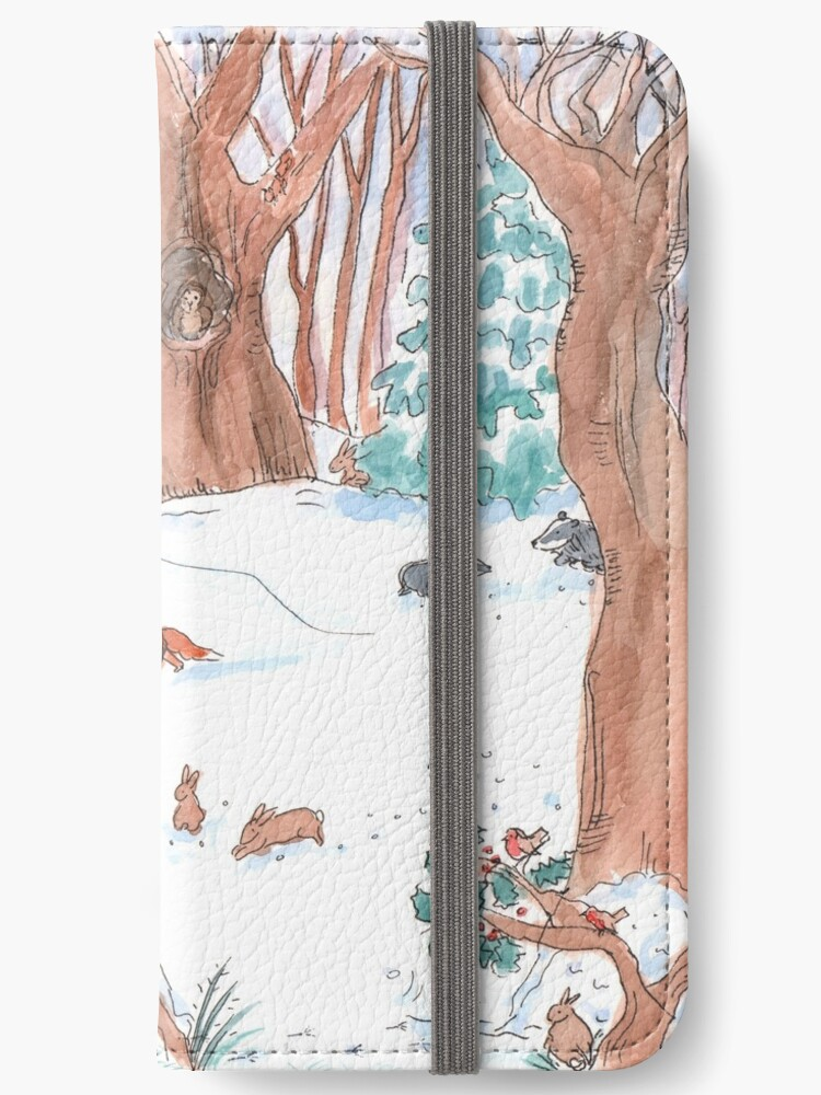 Winter in the Woods by Katie Wells Illustration by KW-illustration