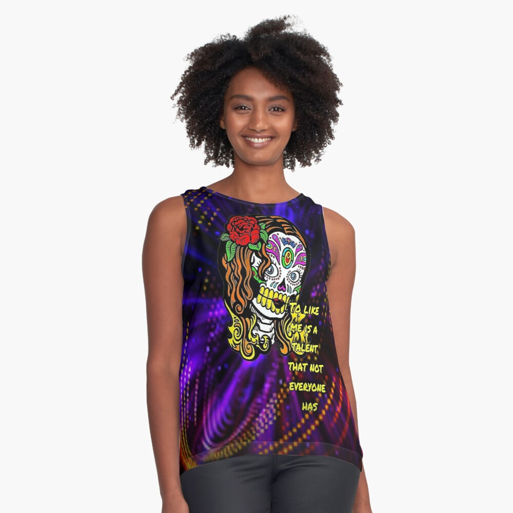 Talent asked Contrast Tank Front