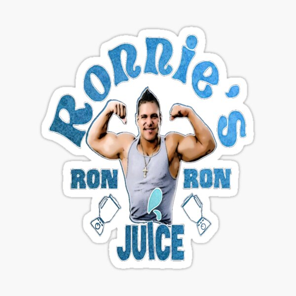 Ronnies Ron Ron Juice Sticker