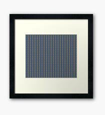 Vector Chain Art - 052 Framed Print