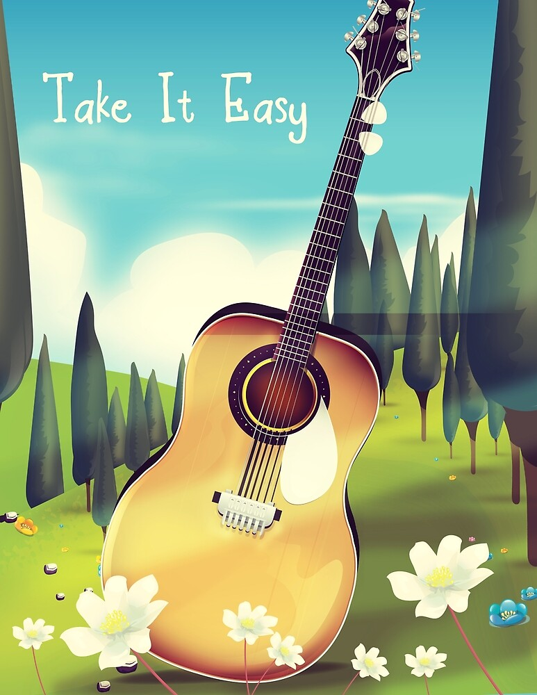 Take it Easy by vectorwebstore