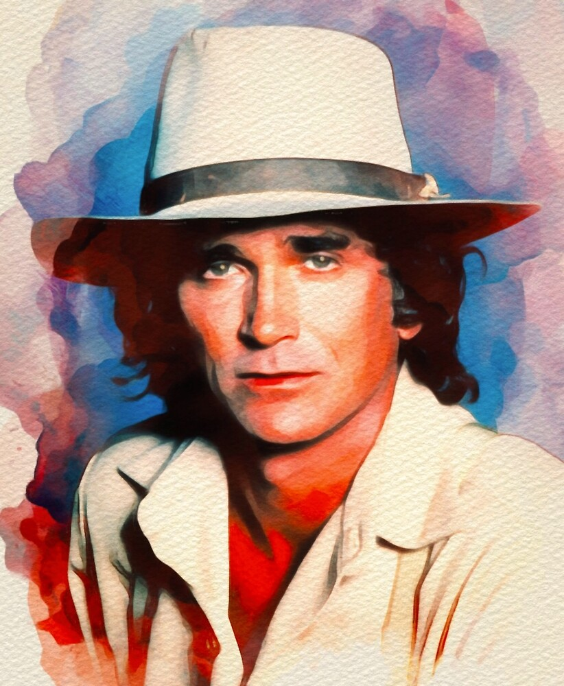 Michael Landon, Vintage Actor by SerpentFilms