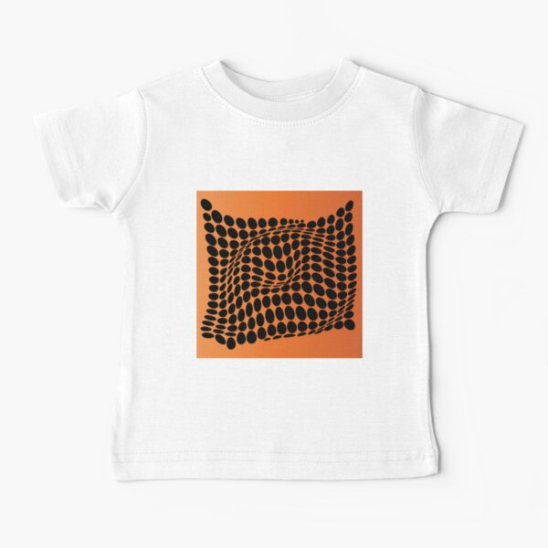 COME INSIDE (ORANGE) Camiseta para bebés